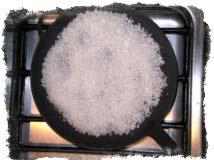 Снятие порчи солью - Семидневный обряд устранения сглаза