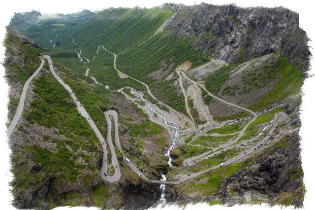 тропа троллей норвегия