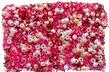 белые и розовые бусинки