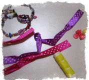 разноцветные нитки и ленточки