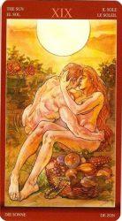 Солнце Таро —значение в отношениях