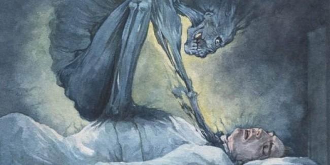 Домовой душит во сне, почему?