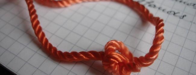 Узелковая магия — техника исполнения красной нитки желаний