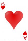 Общее обозначение игральных карт при гадании - черви