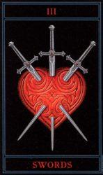 3 мечей таро