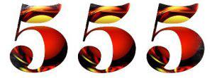 Тройные числа в нумерологии - значение числа 555