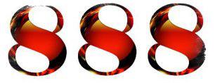 Тройные числа в нумерологии - значение числа 888