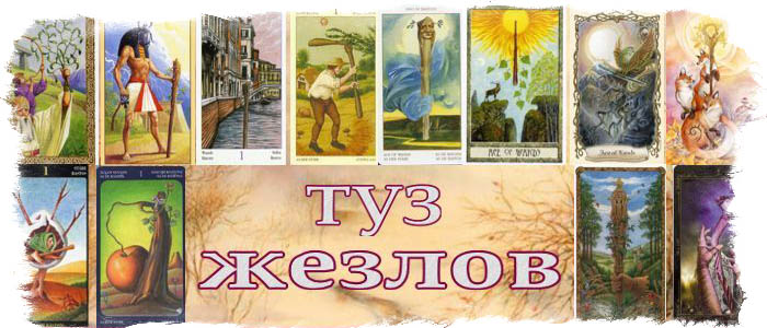 Что означает Таро Туз Жезлов на уровне сознания