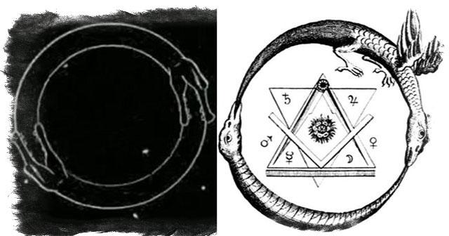 Роль круглой змеи в современной эзотерике - знаки уробороса