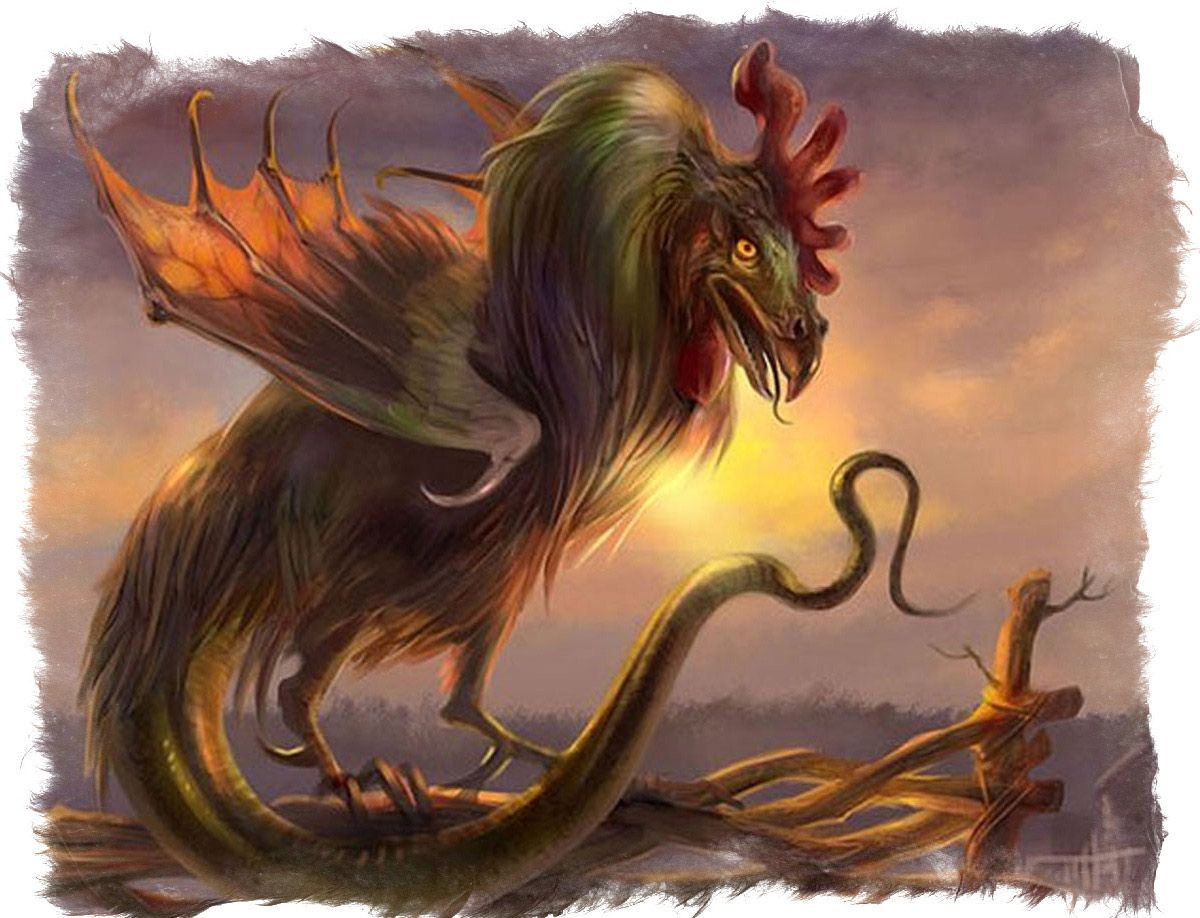 Василиск мифология - Как выглядит Василиск согласно мифам