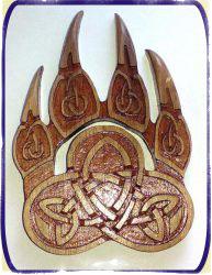 велес бог - Символ Медвежья лапа