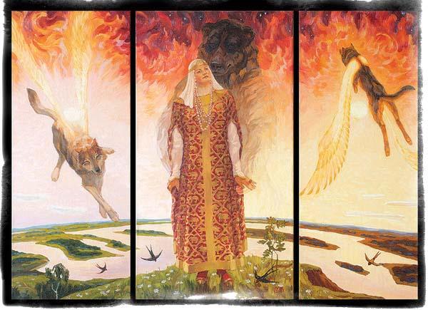 жена велеса