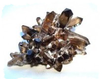 Ювелирные камни талисманы - Дымчатый кварц