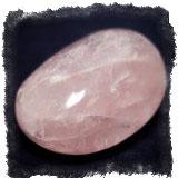 Ювелирные камни талисманы - Розовый кварц
