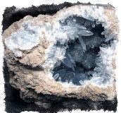 Ювелирные камни талисманы - Целестин