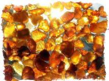 Ювелирные камни талисманы - Янтарь