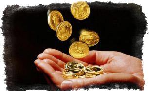 Заговор на быстрое привлечение денег на монеты