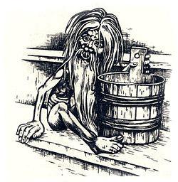 Дух Банник в мифологии славян