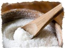 соль, освященная в чистый четверг