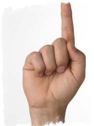 значение пальцев